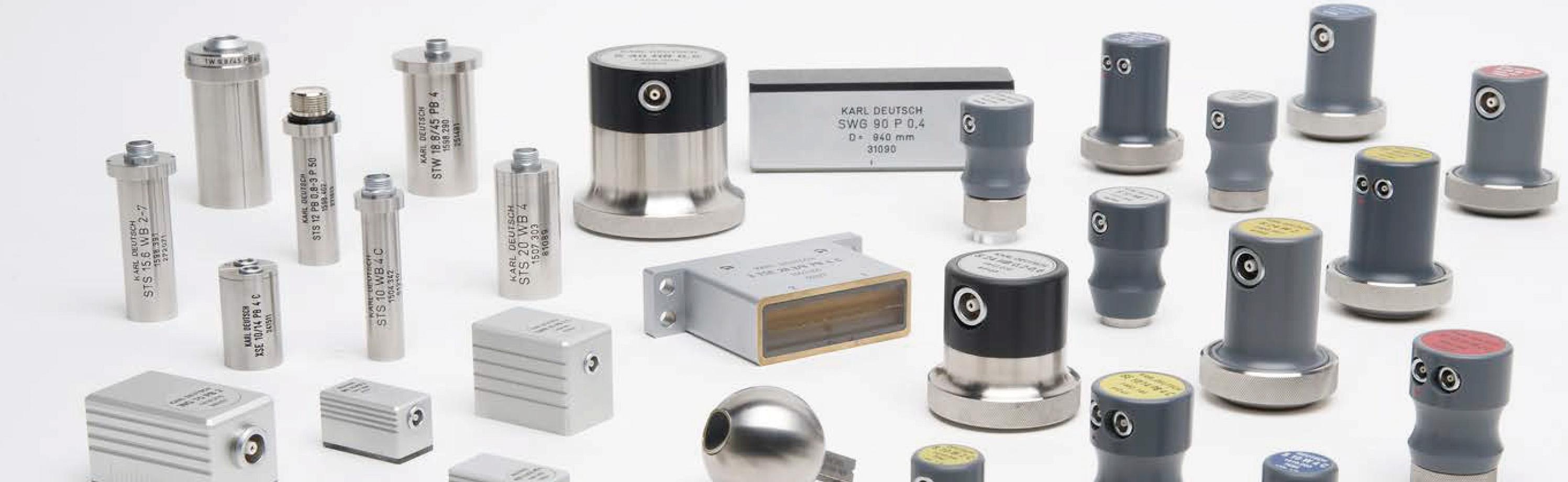 Palpadores y equipos portátiles de ultrasonidos