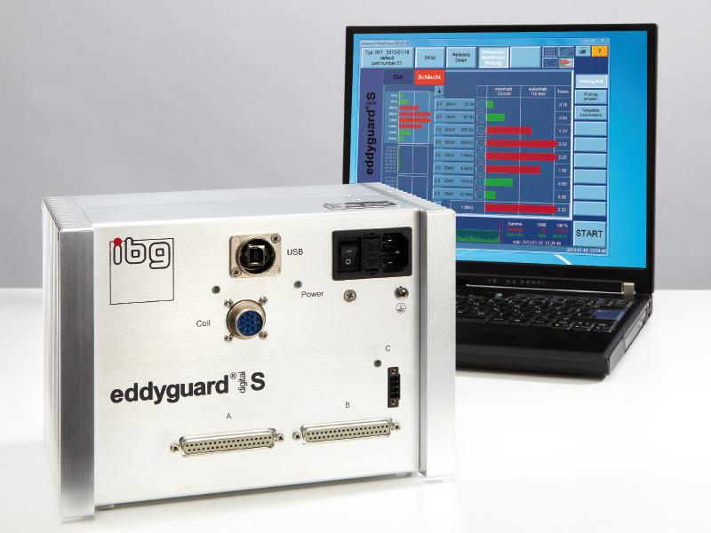 Control de piezas de automoción mediante corrientes Inducidas con equipos multi frecuencia