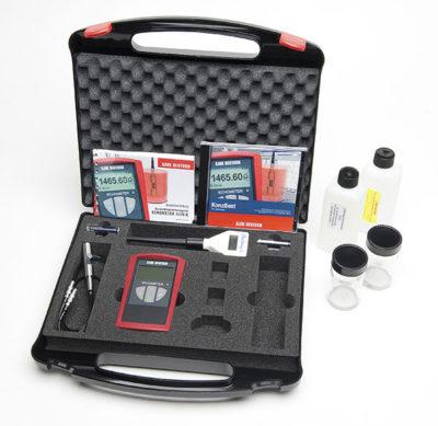 Detector de defectos internos por ultrasonidos