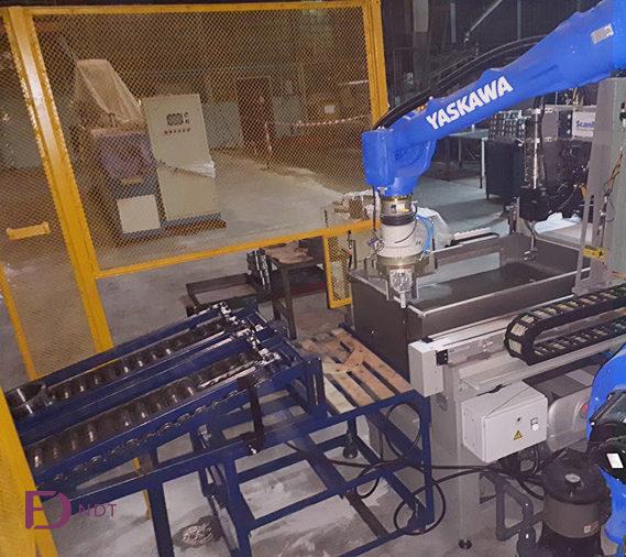Robot para automatizar carga y descarga